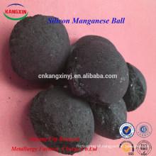 Liga de silício manganês