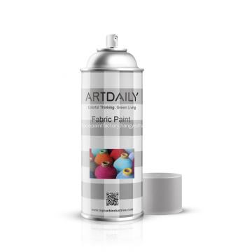 Spray Acrylic Paint on Fabric