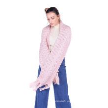 Bufandas femeninas de los chales de las lanas llanuras al por mayor 2017