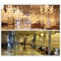 Zinc alloy indian modern crystal hanging chandelier for sale LT-85504