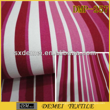 types of woven stripe print fabric wholesale