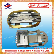 China Factory Custom Fashion Zinc Alloy Metal Men Women Belt Buckle