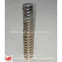 Dia.6x3mm N35 ndfeb никелевым покрытием магнита