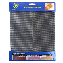 Grueso mech impermeable Hoja de pantalla de arena / hoja de pantalla de arena en forma cuadrada con paquete