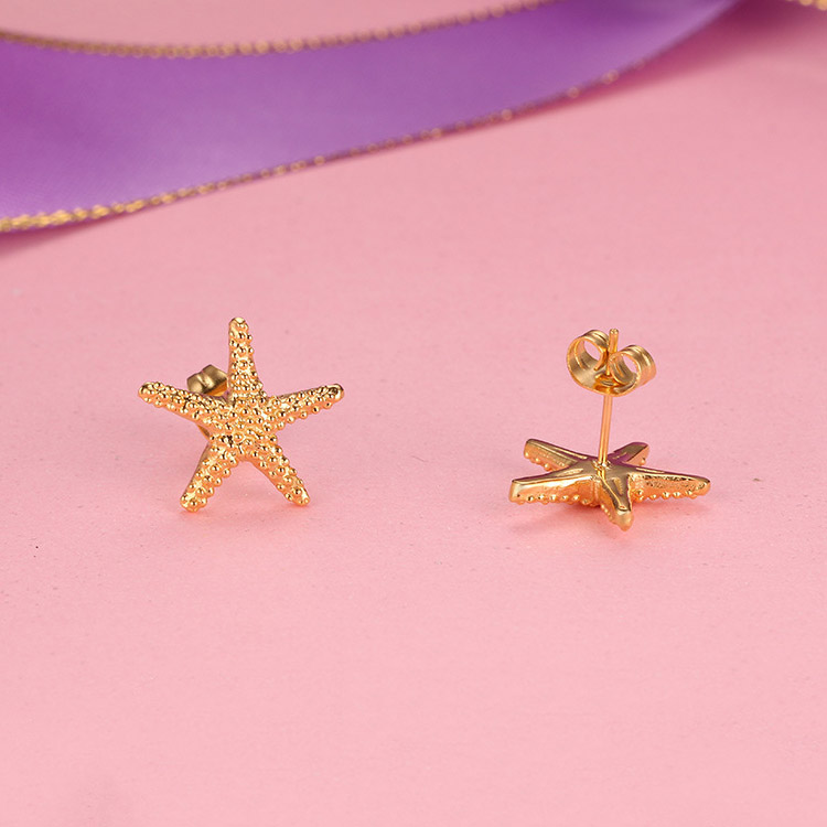gold stud earrings for women