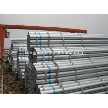 BS, GB, DIN, ASTM Scaffolding galvanização tubo de aço