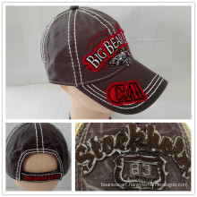 (LW15027) Custom Stone Washed Cotton Cap