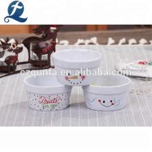 Por atacado pequenos pratos de cerâmica personalizados Bakeware Set