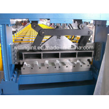 Machine de formage de rouleaux de plancher en acier laminé à froid Gi PPGL