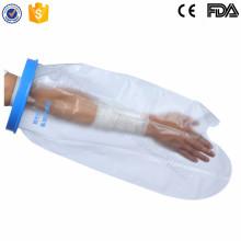 Protección de la ducha después de la cirugía para vendajes anchos cortos de brazo adultos