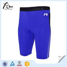 Shorts de compresión Pantalones cortos de yoga Pantalones cortos de gimnasio para hombres