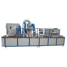 Machine de revêtement en poudre Armature avec convoyeur