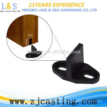 Barn Door Floor Guide Black Stay Roller for Bottom of Sliding Door