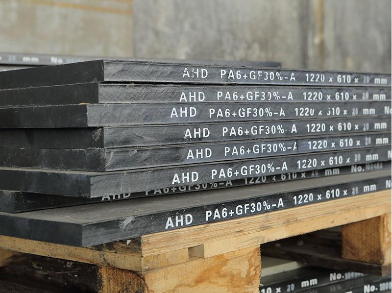 PA6+GF Black Board