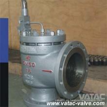 Válvula de seguridad de elevación completa A216 Wcb / Lcb / Wc9 / Ss304 / Ss316 (A46Y)