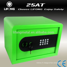 Colorful electronic home safe box for wholesale