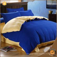 2014 Color sólido de algodón de venta caliente l juegos de cama