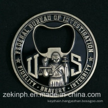 Souvenir Coin Beer Bottle Opener Custom