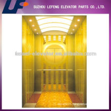 Luxuriously Titanium Passenger Elevator