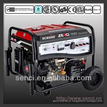 Preços de gerador de gasolina portátil de 7000 watts SC8000-I 50Hz