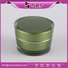 China on-line compras rodada ouro cosméticos rosto creme 50ml acrílico jar