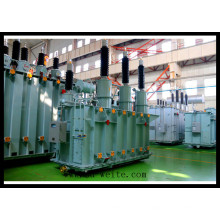 110kv China Transformador de Poder de Distribuição Imerso em Óleo