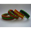 New design! easy open adjustable metal buckle bracelet