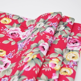 T/C Plain Printed Fabric