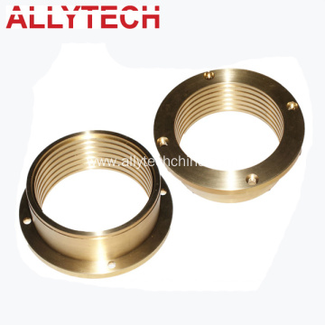 Customized CNC Machining Brass Flange