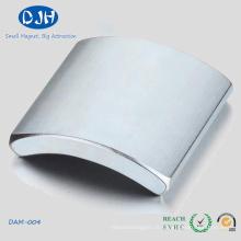 Aimants en forme d'arc utilisés dans un moteur ou un générateur ou des produits électroniques