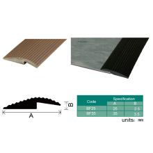 Garniture de bord en plastique de tapis de bande de bâti de PVC d'accessoires de plancher