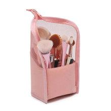 New Fashion Portable Travel Cosmetic Makeup Brush Holder Brush Organiser Bag Case Zipper Pouch for Women