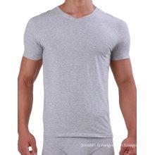T-shirt de gymnastique de coton de Pima des hommes