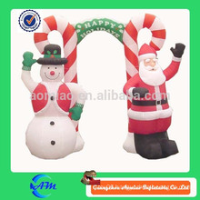 christmas inflatable decoration arch inflatable santa claus inflatable snowman arch