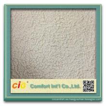 Moda de alta calidad nuevo diseño elegante tapicería impresa al por mayor sherpa tela