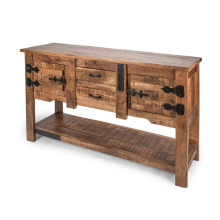 Drawer & Door Consol Table