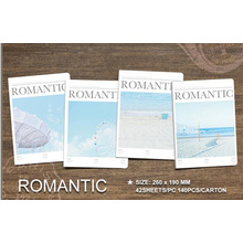 New Design Romantic Note Book School Exercise Book for Promotional