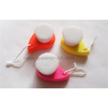 Escova de limpeza facial de cabelo macio Soft Label