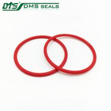 Transmissão PU anel de vedação do anel de vedação do cilindro vermelho