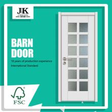 JHK-G22 Glass Double Swing Glass Door 15 Panel Glass Door