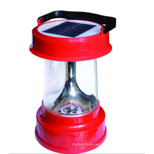 Función de radio recargable LED que acampa luces solares