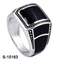 Neues Modell 925 Sterling Silber Ring mit Emaille