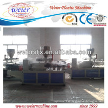 double screw extruder machinery for PVC pipe making