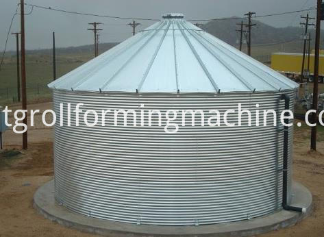 Grain Bin & Grain Storage Silo Machine
