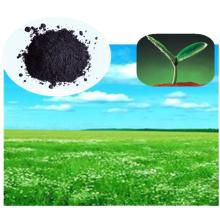 Estiércol orgánico con extracto de algas marinas para alimentos saludables