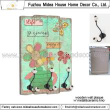 China Wholesale Decoração para casa Artesanato de madeira para Wall Hangings