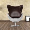 Яйцо алюминий стул стул Beanbag исследование кресло