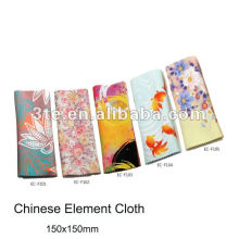 Logo printed eyeglass lens cleaning cloth