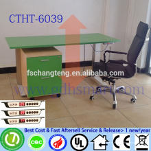 muebles de sala altura ajustable escritorio de café arne jacobsen mesa mesa de centro de vidrio