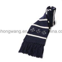 Promoción invierno cálida bufanda de acrílico de punto